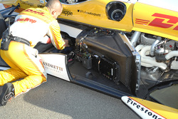 Car of Ryan Hunter-Reay, Andretti Autosport Chevrolet, detail