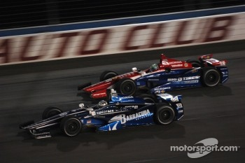 Alex Tagliani, Team Barracuda - BHA Honda and Graham Rahal, Service Central Chip Ganassi Racing Honda
