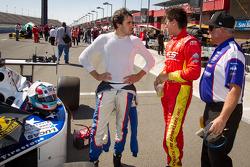 Tristan Vautier, Sam Schmidt Motorsports and Sebastian Saavedra, AFS Racing