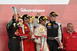 Round 6 Race 2 Ferrari Trofeo Pirelli Podium