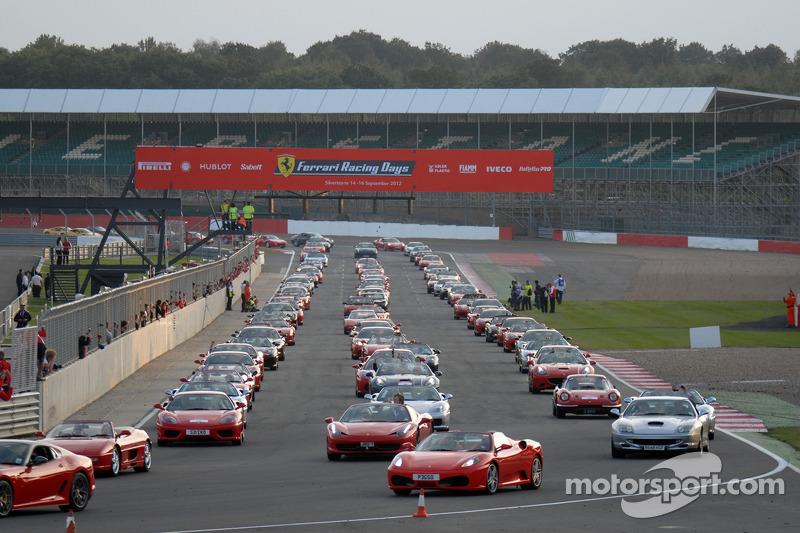Ferrari World Record Attempt