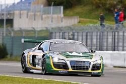 #98 JB Motorsport Audi R8 LMS: Jan Brunstedt, Mikael Bender, Daniel Roos