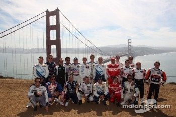 Family picture, WTCC 2012 Drivers