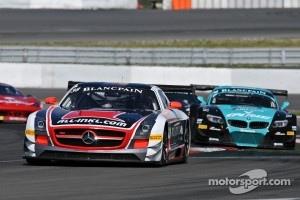 #38 All-Inkl.com Muennich Motorsport Mercedes-Benz SLS AMG GT3: Marc Basseng, Marcus Winkelhock