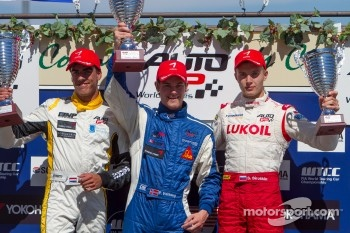Pal Varhaug, Daniel de Jong, Sergey Sirotkin