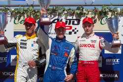 Pal Varhaug, Daniel de Jong, Sergey Sirotkin
