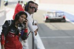 Audi race engineer Leena Gade and Benoit Trluyer