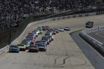 Start: Denny Hamlin, Joe Gibbs Racing Toyota leads