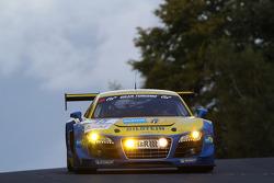 #15 Audi Sport Team Phoenix Audi R8 LMS ultra: Christopher Haase, Frank Biela