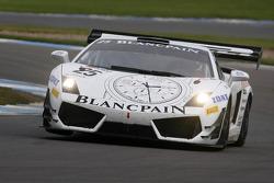 #25 Reiter Engineering Lamborghini Gallardo LP600: Peter Kox, Stefan Rosina