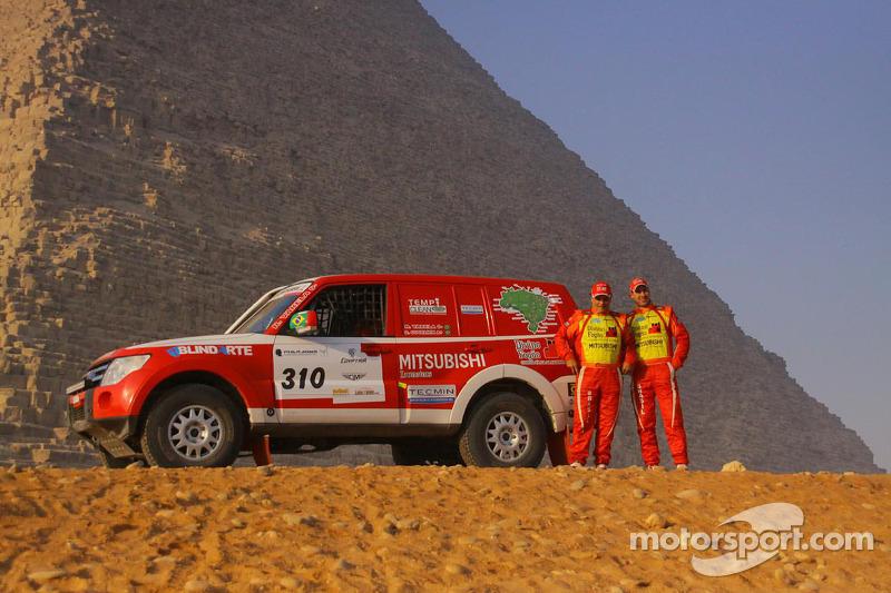 #310 Mitsubishi: Reinaldo Marques, Gustavo Souza