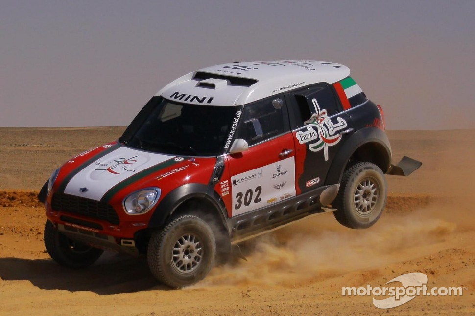 #302 MINI All4: Khalifa Al-Mutaiwei and Andreas Schulz