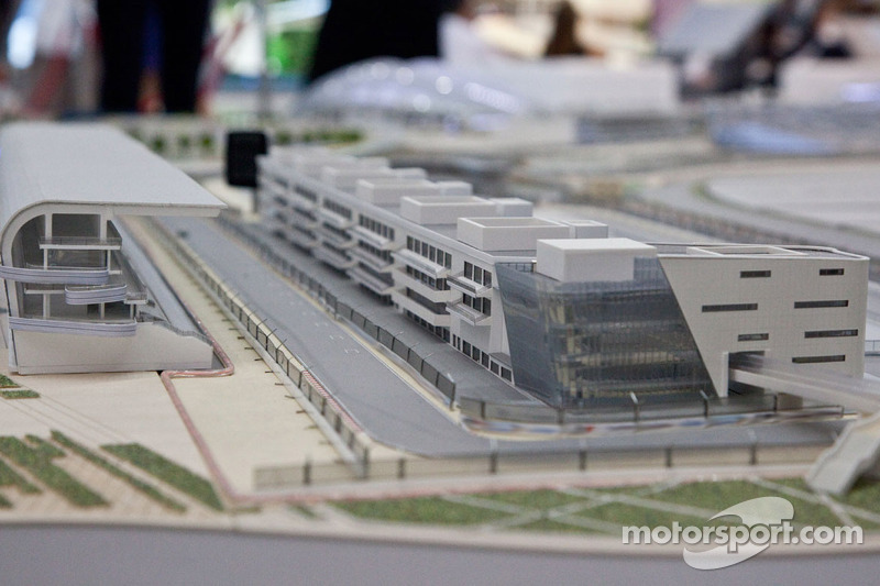 Officials unveil the 3d model of the Russian GP track at Sochi
