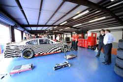 2013 Sprint Cup car test