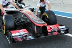 McLaren MP4/27 front wing