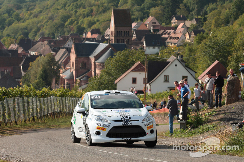 Pontus Tideman and Stig Rune, Ford Fiesta R2