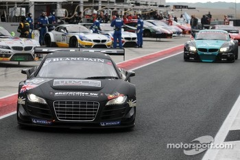 #30 GT3 Racing Audi R8 LMS: Aaron Scott, Craig Wilkins