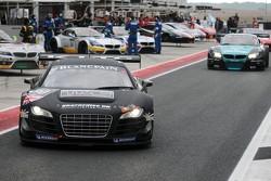 #30 GT3 Racing Audi R8 LMS: Aaron Scott, Craig Wilkins
