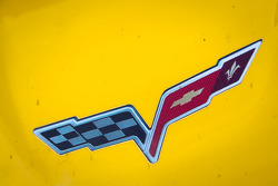 Corvette Racing Chevrolet Corvette C6 ZR1 logo detail