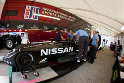 #0 Nissan DeltaWing Project 56 Nissan at technical inspection