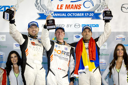 PC podium: class winners Alex Popow, Ryan Dalziel, Mark Wilkins
