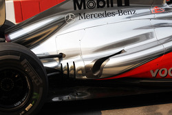McLaren exhaust detail