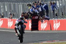 Jorge Lorenzo, Yamaha Factory Racing takes the checkered flag