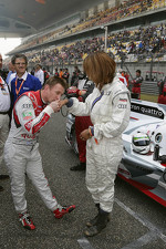 Allan McNish and Keri Hilson