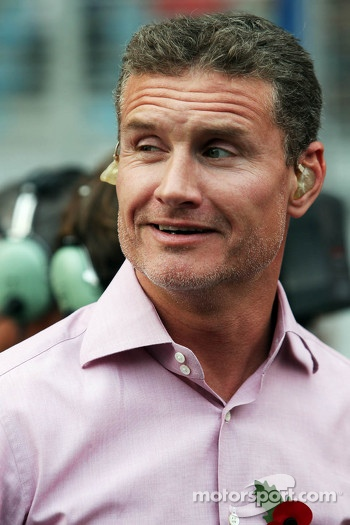 David Coulthard, Red Bull Racing and Scuderia Toro Advisor / BBC Television Commentator on the grid