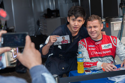 Shanghai circuit worker and Tom Kristensen