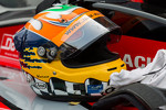 Karun Chandhok's helmet