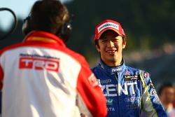 GT500 pole winner Yuji Tachikawa