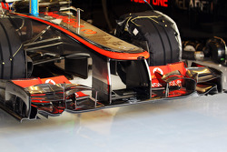 McLaren front wing of Jenson Button, McLaren
