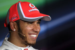 Post-qualifying press conference: pole winner Lewis Hamilton, McLaren Mercedes