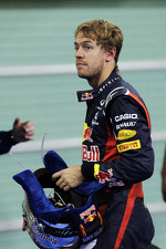 Sebastian Vettel, Red Bull Racing in parc ferme