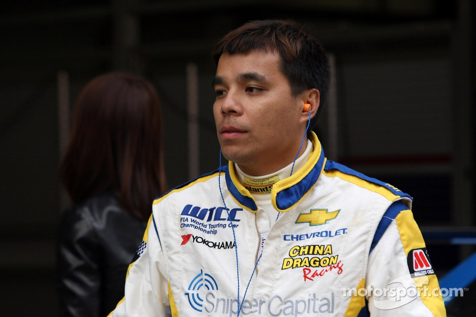 Felipe C. De Souza, Chevrolet Lacetti, CHINA DRAGON RACING
