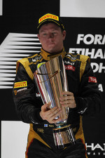 1st place Kimi Raikkonen, Lotus Renault F1 Team