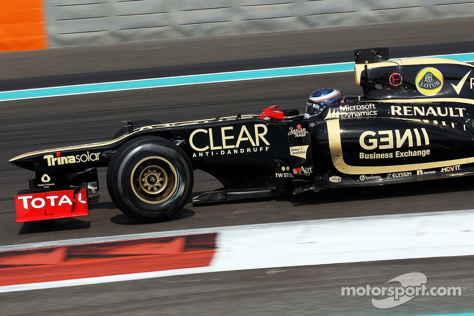 Edoardo Mortara, Lotus F1 Test Driver