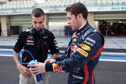 Antonio Felix da Costa, Red Bull Racing Test Driver with Robin Frijns, Red Bull Racing Test Driver
