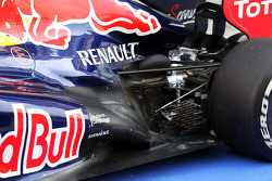 Red Bull Racing rear suspension and exhaust detail