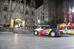 Ceremonial start: Sébastien Loeb and Daniel Elena, Citroën DS3 WRC, Citroën Total World Rally Team