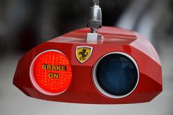 Scuderia Ferrari pit installation