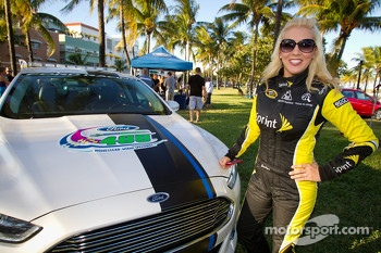 NASCAR Championship Drive in South Beach: Jaclyn, one of the Miss Sprint