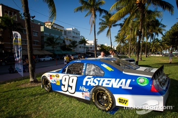NASCAR Championship Drive in South Beach: car of Carl Edwards, Roush Fenway Racing Ford