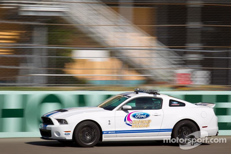 Pace car rides with David Ragan