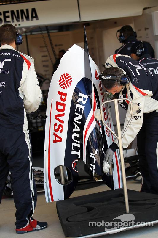 Williams engine cover