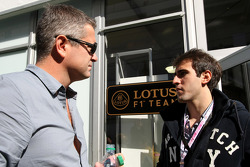 Gil de Ferran and Tristan Vautier