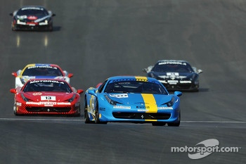 #100 Ferrari of Ft Lauderdale 458CS: Henrik Hedman