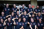 Scuderia Toro Rosso team photograph