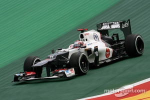 Sauber F1C31 in its final race at the Brazilian GP